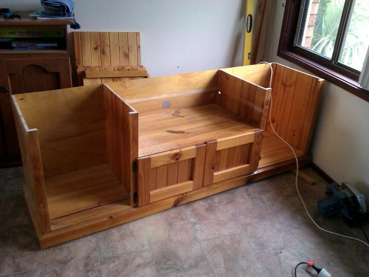 Things I forgot to blog #1: Our DIY TV cabinet makeover.   A ...