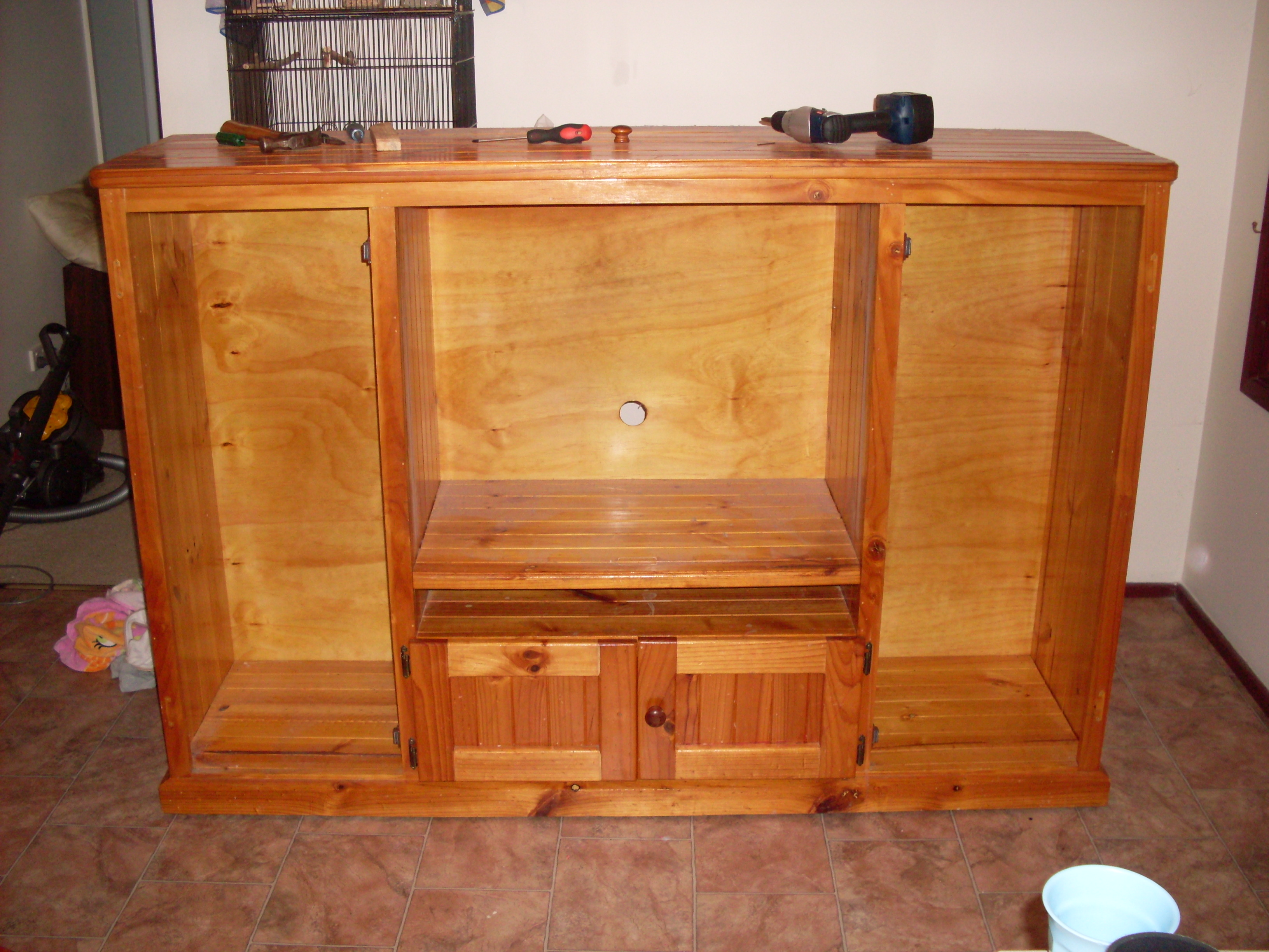 Things i forgot to our diy tv cabinet makeover